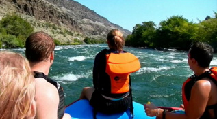 Deschutes River rafting trip