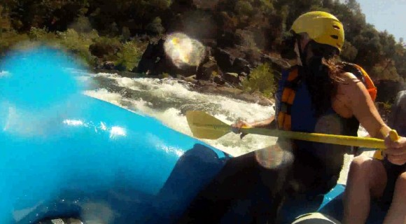 A Day of White Water Rafting