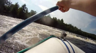 Rafting the Penobscot in Millinocket