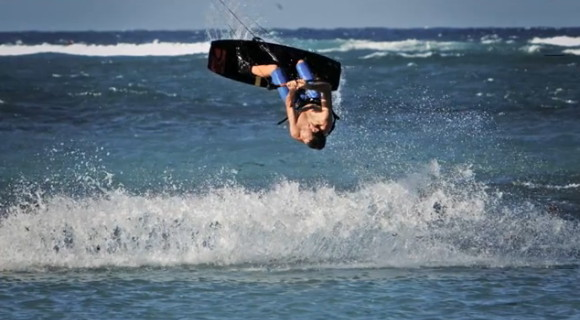 Kiteboarding in Super Slow Motion