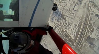 Wingsuit Skydiving Winter 2013
