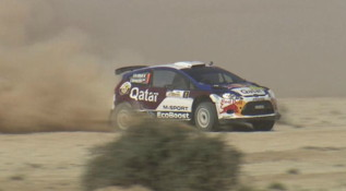 2013 Qatar International Rally. DAY 2