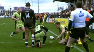 Newcastle Falcons 16-22 Northampton Saints